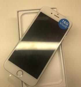 iPhone 6 (16) Silver новый