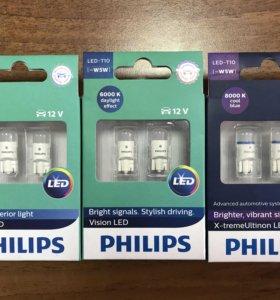 Диодные лампочки philips