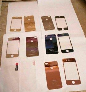 Защитное стекло iphone 4, iphone 4s