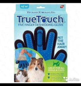 Перчатка для вычёсывания шерсти животных