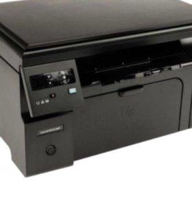 Принтер HP M 1130 MFR ( принтер ,сканер,копер)