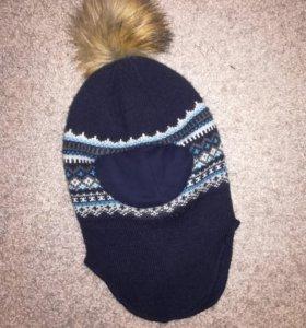 Шапка шлем зима