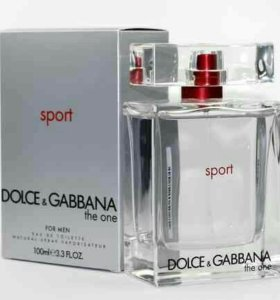 D&G - The One for Men Sport