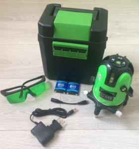 Лазерный уровень зелёный луч