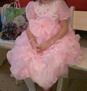 Платье 4-5 лет.