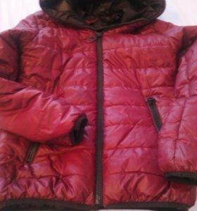 Куртка осенняя б/у один сезон в хорошем состоянии