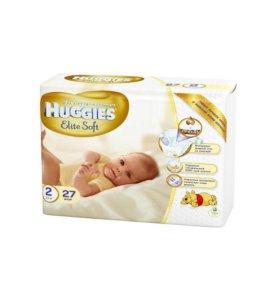 Подгузники Huggies 4-7кг (27шт)