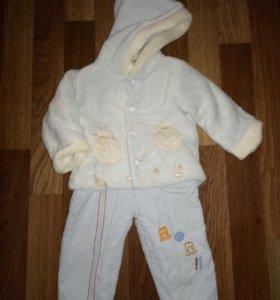 Куртка и штаны демисезонный детские на 74