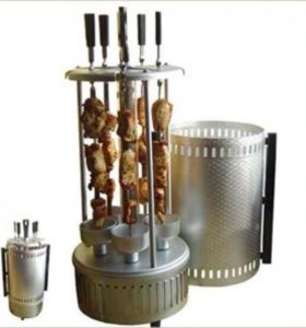 Шашлычница energy Нева-1 5 шампуров новая