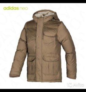Adidas NEO!!! Куртка зимняя! Новая! Оригинал!