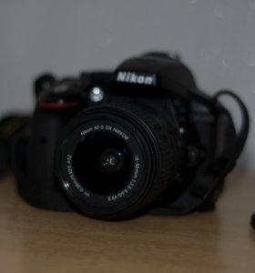 Nikon D5300 kit 18-55 vrII