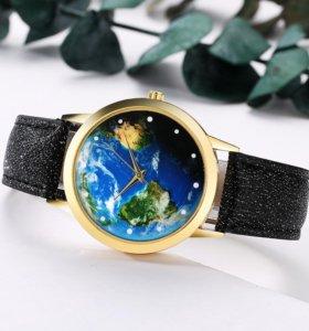"""Часы наручные """"Карта мира"""""""