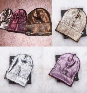 Новые женские шапки цвет на выбор