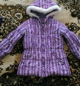 Зимний костюм.куртка и комбинезон