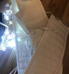 Бортики в детскую кроватку ikea
