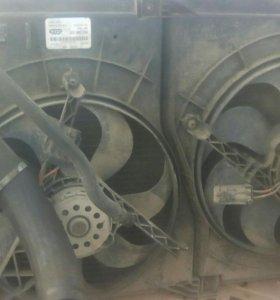 Радиатор в сборе ldv maxus
