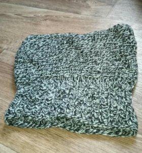Шапка-шарф+ шапка