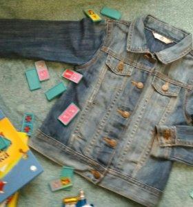 Куртка джинсовая для девочки 3-5 лет