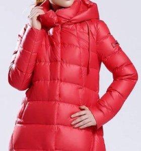 Куртка-пуховик, новая, зимняя 44-46 р.