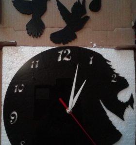 Акриловые настенные часы