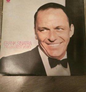 Виниловые пластинки Frank Sinatra в коллекцию