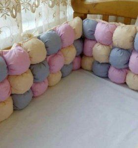 Бортики, одеяла и бортики бомбон под заказ
