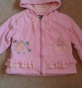 Куртка на девочку 2-х лет