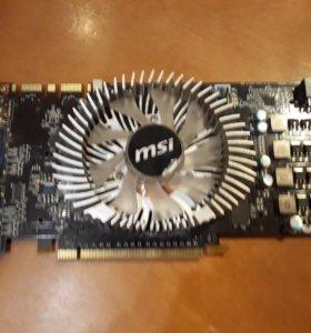 Видеокарта MSI GeForce GTS 250