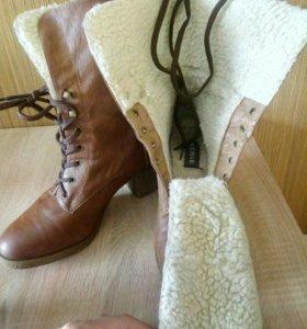 Супер-теплые ботинки