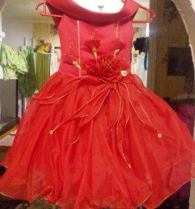Детские платья на корсете