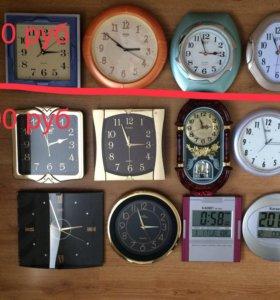 Часы настенные, будильники новые!!!!
