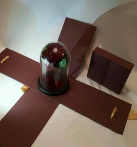 Подарочная коробка распада 4 части