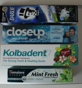 Зубная паста в ассортименте