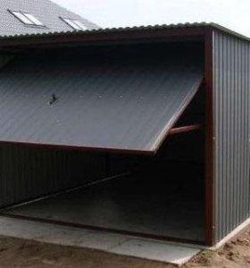 Металлический гараж без машиноместа.