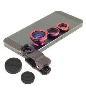 Комплект линз на камеру Мобильного телефона