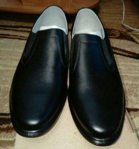 Туфли. Кожаные.