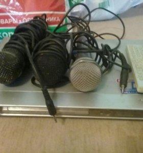 Двд с микрофонами