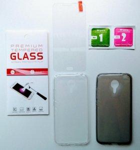 На Meizu mx5 (mx-5) защитные стекла и чехлы