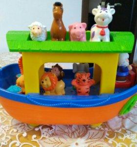 Ноев ковчег музыкальная игрушка