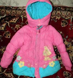 На весну Куртка для девочки, красивая