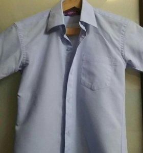 Рубашка на мальчика, рост 134