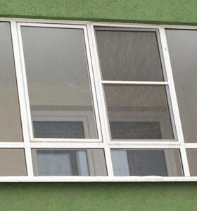 Окно алюминиевый профиль
