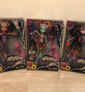 Monster High,Монстер хай,куклы,новые