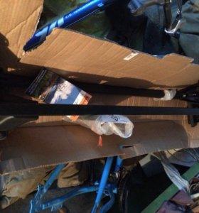 Багажник на крышу Lux (две поперечины)