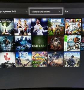 Xbox one s 1 tb + подписка live на 12 месяцев