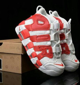 "Кроссовки NIKE AIR MORE UPTEMPO ""Gym Red"""