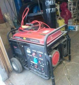 Бензиновый сварочный генератор