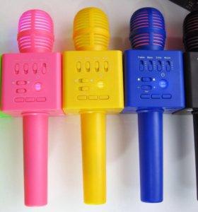 Беспроводной караоке микрофон Q9-