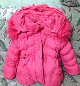 Курточка детская пуховик