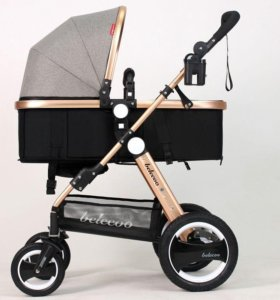 Детская коляска трансформер 2 в 1.